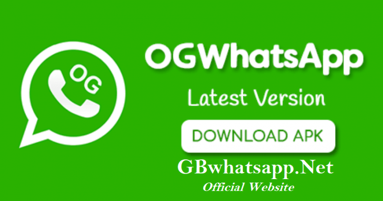 OG Whatsapp APK Download 10.8 (Official Anti Ban) Latest